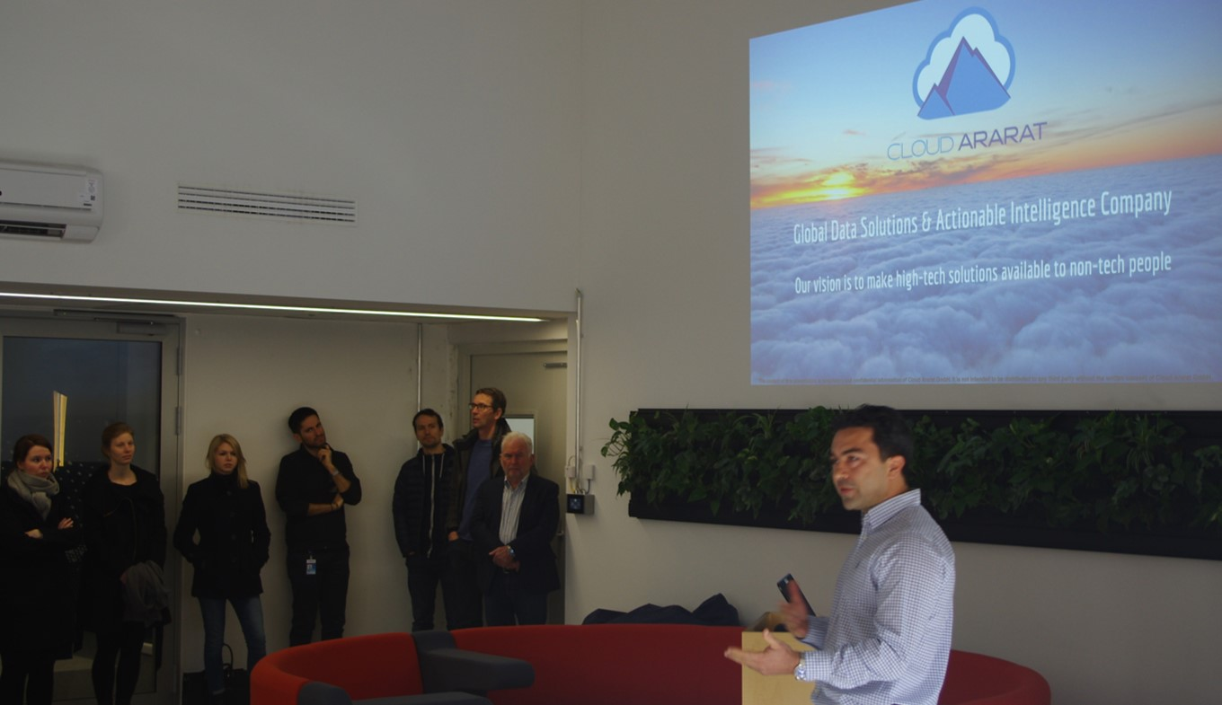 "Get-together at Airbus' ""CTO hub"""